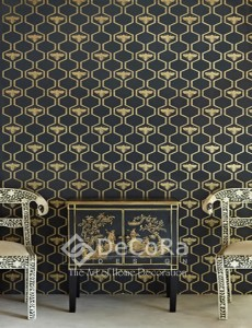 PxxW175-tapet-model-geometric-negru-auriu-modern