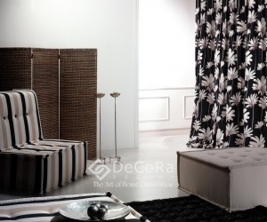draperie-model-floral-negru-alb-clasic-elegant