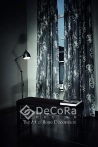 1-draperii-lux-draperie-negru-alb-model-floral-modern
