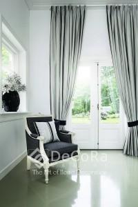 draperii-lux-draperie-gri-dungi-alb-negru-clasic